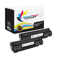 2Pk SPS 78X CE278X Black HY Compatible for HP LJ 1600 P1606DN Toner (3K Pgs)