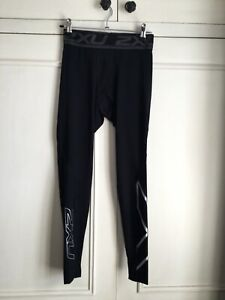 2XU Mens Black Compression/Cycling Tights Size M