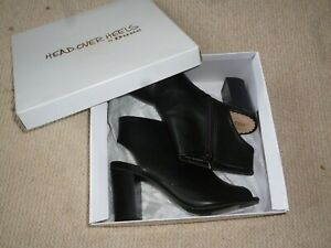 Dune black Peep toe coverage Boots/shoe, Smart/Casual/Party, BNIB.