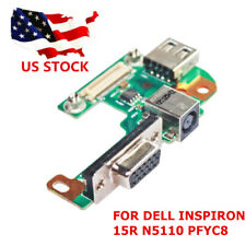 DC power JACK PORT VGA USB BOARD FOR DELL INSPIRON 15R N5110 VOSTRO V3550 P
