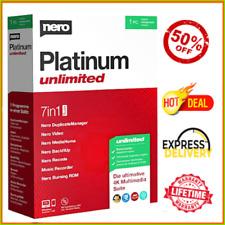 Nero Platinum 2020 LifeTime-Multi-language-Windows✔️Fast Delivery✔️