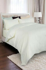 Royal Comfort 1200 TC 100 Egyptian Cotton Ivory Queen Bed Quilt Cover Set