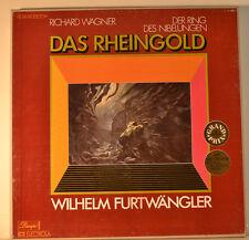 """L'OR DU RHIN - WILHELM FURTWÄNGLER - WAGNER 12"""" 3 LP BOX (L289)"""
