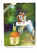 PUBLICITE  1968   GASTON DE LAGRANGE   cognac  par KIRAZ