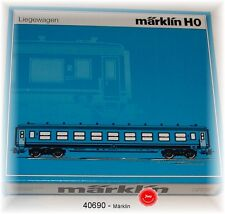 Märklin 40690 Passenger Car Set Tin Plate SNCB 6-teilig # NEW ORIGINAL PACKAGING