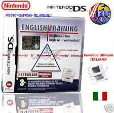 ENGLISH TRAINING GIOCO NUOVO DS E 3DS IN EDIZIONE ITALIANA