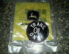 NEW JOHN DEERE TRANSMISSION FILLER CAP 300 316 318 330 332 400 420 430 110 112