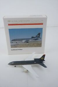 Herpa Wings 1:500 Royal Jordanian Lockheed Tristar #504850 Die-Cast Airplane