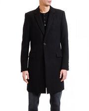£1,850 NEW Dolce & Gabbana Black Virgin Wool Mens Coat Jacket 48 38 Mr Porter