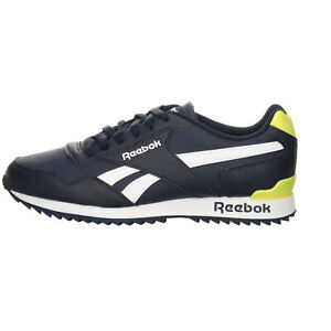 Reebok Royal Glide RPLCLP Sneaker Herren Schuhe Glattleder uni blau 3172