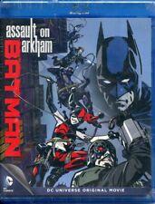 BATMAN ASSAULT ON ARKHAM - DC UNIVERSE ORIGINAL MOVIE - BLU RAY - NEW