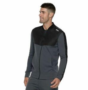 Fila Jacket Coat Men's Gray 2XL XXL New
