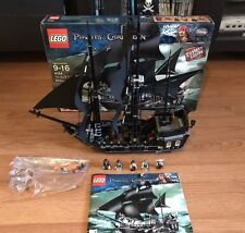 Lego set #4184 Pirates of the Caribbean The Black Pearl Almost Complete Retired
