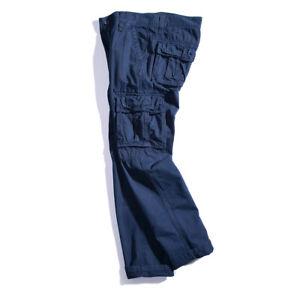 Men's Trousers Trend Straight Leisure Loose Multi Pocket Hip Hop Boy Fashion