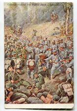 AK Gefangennahme von Russen durch Österreicher, K.u.k Feldpost #2800