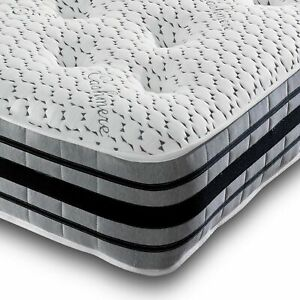 Memory Foam Spring Mattress 3D Border Cashmere Air Flow Tufted Mattress