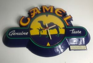 CAMEL Cigarettes Battery Operated Wall Clock R.J. Reynolds