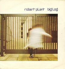 """ROBERT PLANT (OF LED ZEPPELIN) big log/messin' with the mekon 7"""" PS EX-/EX-"""