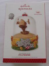 Hallmark 2013 Wizard of Oz It's A Twister Tornado Farmhouse Magic Ornament
