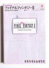 FINAL FANTASY II Guide Book Bandai Wonderswan Color Officiel Jap Japan