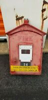 Vintage Gamewell Fire Station Emergency Box Alarm