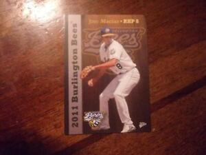 2011 BURLINGTON BEES Multi Ad Single Cards YOU PICK FROM LIST $1-$2 RESTOCK 5/26