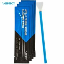 [UK Ship] VSGO APS-C Frame DSLR Sensor Cleaning Swab16mm*10pcs for Camera