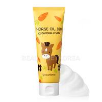 [SEANTREE] Horse Oil 100 Cleansing Foam 120ml / Soft and rich foam