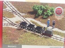 Feldbahn Set mit Gleisanlagen u. Fahrzeugen  - Auhagen HO 1:87 Bausatz 41700  #E