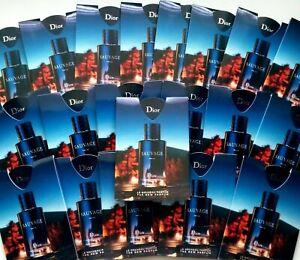 Dior SAUVAGE PARFUM Set 20pc X 0,3ml each spray New Set