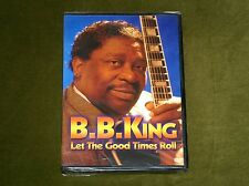 B.B. KING LET THE GOOD TIMES ROLL DVD LIVE CONCERT PERFORMANCE 5.1 SOUND New