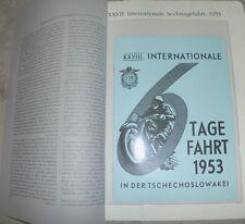 Adler 6 giorni di viaggio 1953 gottwaldow m250 150 SIXDAYS gare motociclistiche Oldtimer