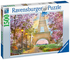 16000 Ravensburger Paris Romance 1500 Piece France Jigsaw Puzzle Age 12 Years+