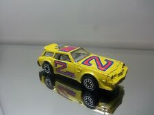 1980 Kenner Fast 111's Chevy Camaro Z-28 - Outlawer/ Yellow - N.Mint Loose 1/64