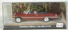 James Bond 007 Collection 1/43 Chevrolet Impala Live and let die in O-Box #5612
