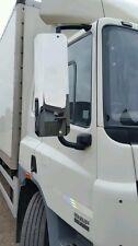09  PAIR CHROME  MAN TGA TGL TGM TRUCK  MIRROR GUARDS 750mm  lorry tipper
