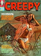 Creepy Magazine 148 Issues Classic 1970s Bw Horror Comics