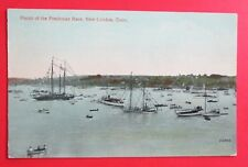 Finish of the Freshman Race New London CT Unposted DB Postcard