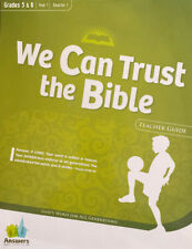 Answers Bible Curriculum: Yr 1 Qtr 1 Teacher Kit Gr 5&6 'We Can Trust The Bible'