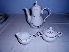 Menuet Poland Royal Vienna Collection Coffee Pot w/Creamer and Sugar (3 Pcs.)