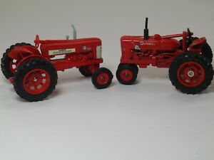 6 Tractors-Ford, Case International, Massey Ferguson, McCormick Farmall