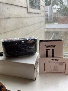 Vivitar T1 Camera Focus Free/110 Cartridge Flash/Red-Eye Reduction Brand New