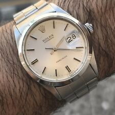 Rolex Oysterdate Precision 6694 Swiss Made 1960's Rivet Band  Men's Watch