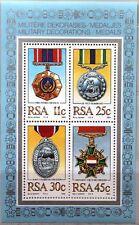 RSA SÜDAFRIKA SOUTH AFRICA 1984 Block 16 militärische Orden Medaillen Order MNH