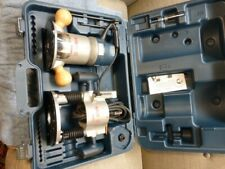 Bosch 1617EVSPK 12A Plunge & Speed Router Kit.  USED. VERY EXCELLENT CONDITION.