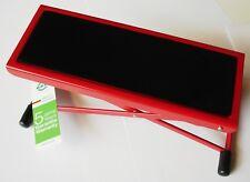 nickelfarbig rot blau schwarz K/&M Fußbank 14670