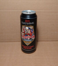 Empty can of IRON MAIDEN TROOPER BEER - Bottom opened - Robinson's collectible