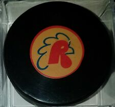 PROVIDENCE REDS AHL ART ROSS TYER CONVERSE OFFICIAL GAME PUCK VINTAGE RUBBER CCM