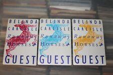 Belinda Carlisle  - 3x unused Backstage Pass -  FREE POSTAGE - Lot#03