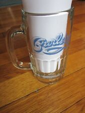 Curley's Auburn NY Beer Mug Glass Collectible Coors Light Silver Bullet FreeShip